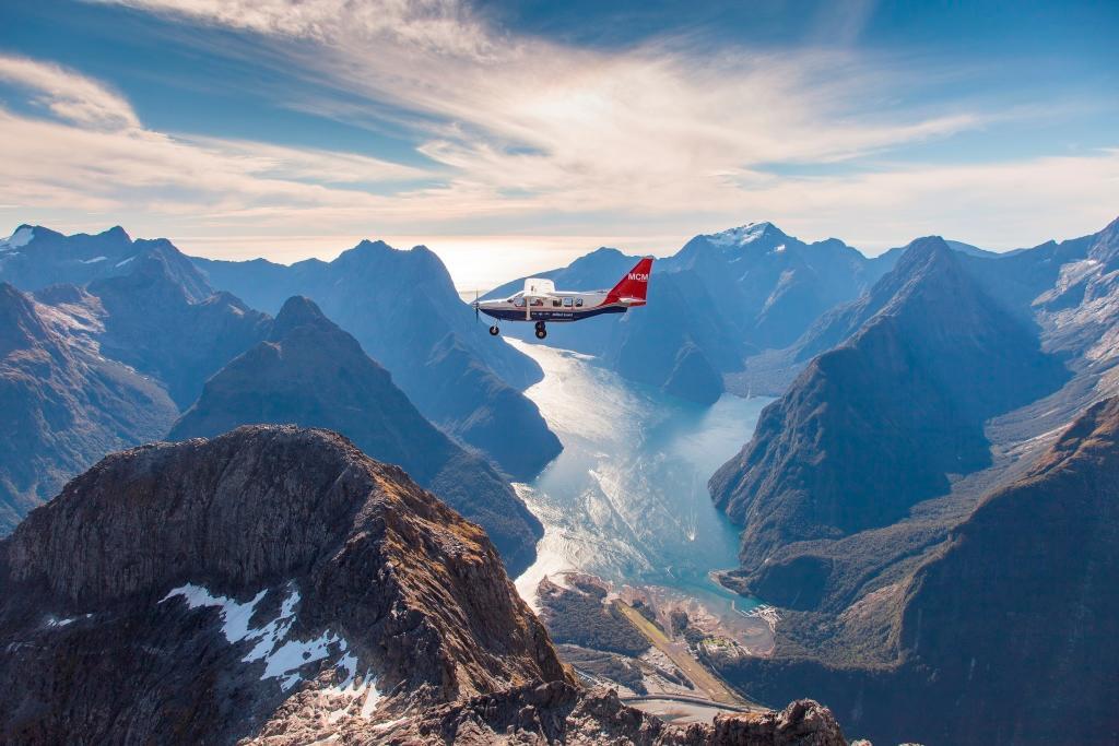 Milford Sound Scenic Flights (Queenstown, New Zealand ...