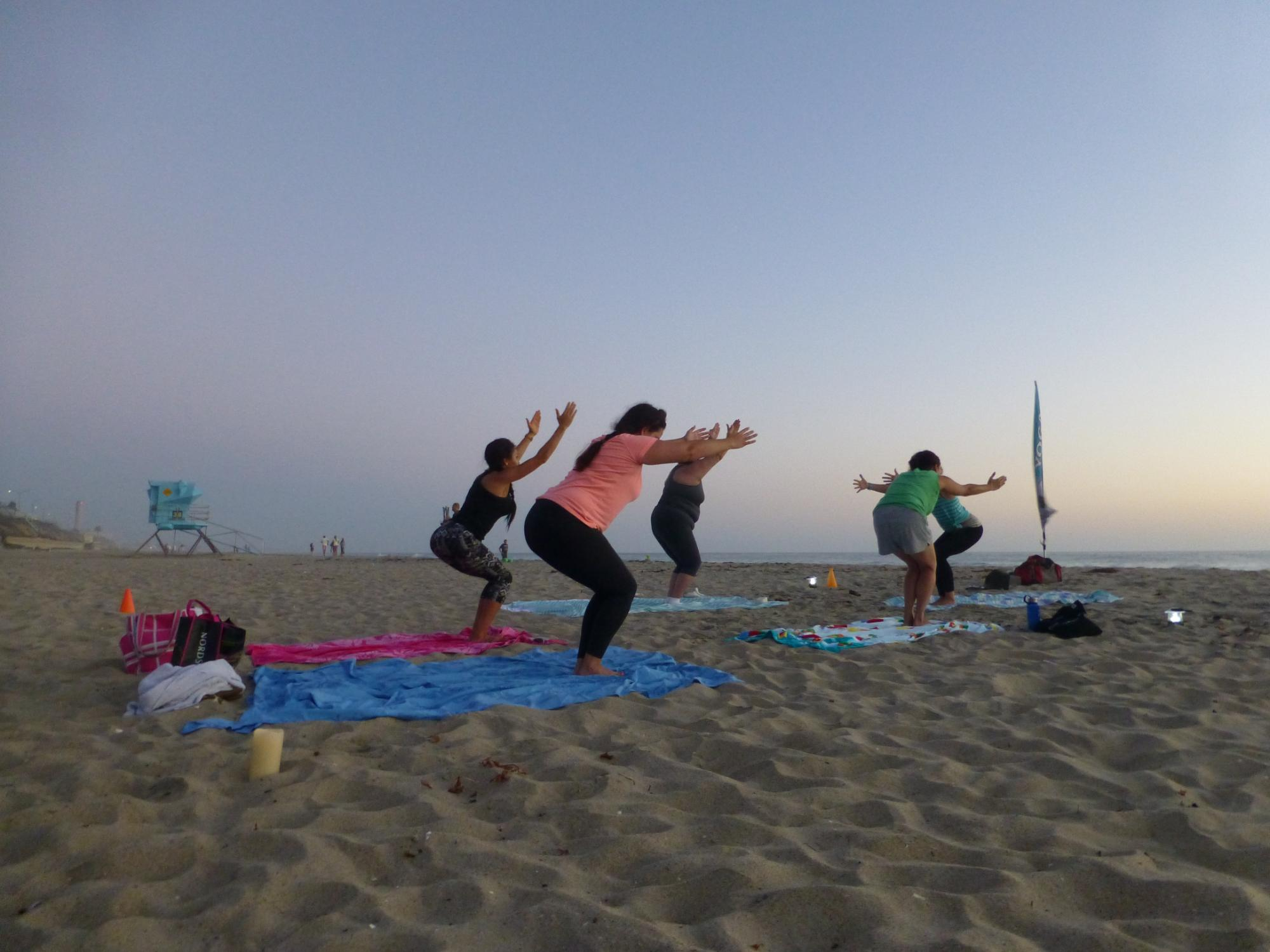 California Sunset Yoga