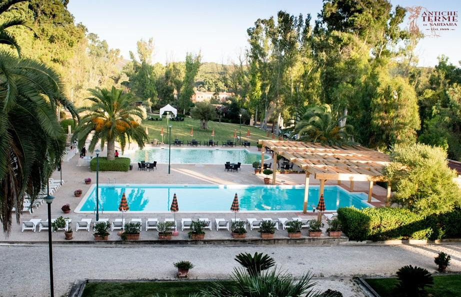 Hotel antiche terme di sardara italie voir les tarifs for Piscine 59