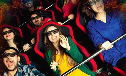 XD Adventures 9D Interactive Cinema Ride