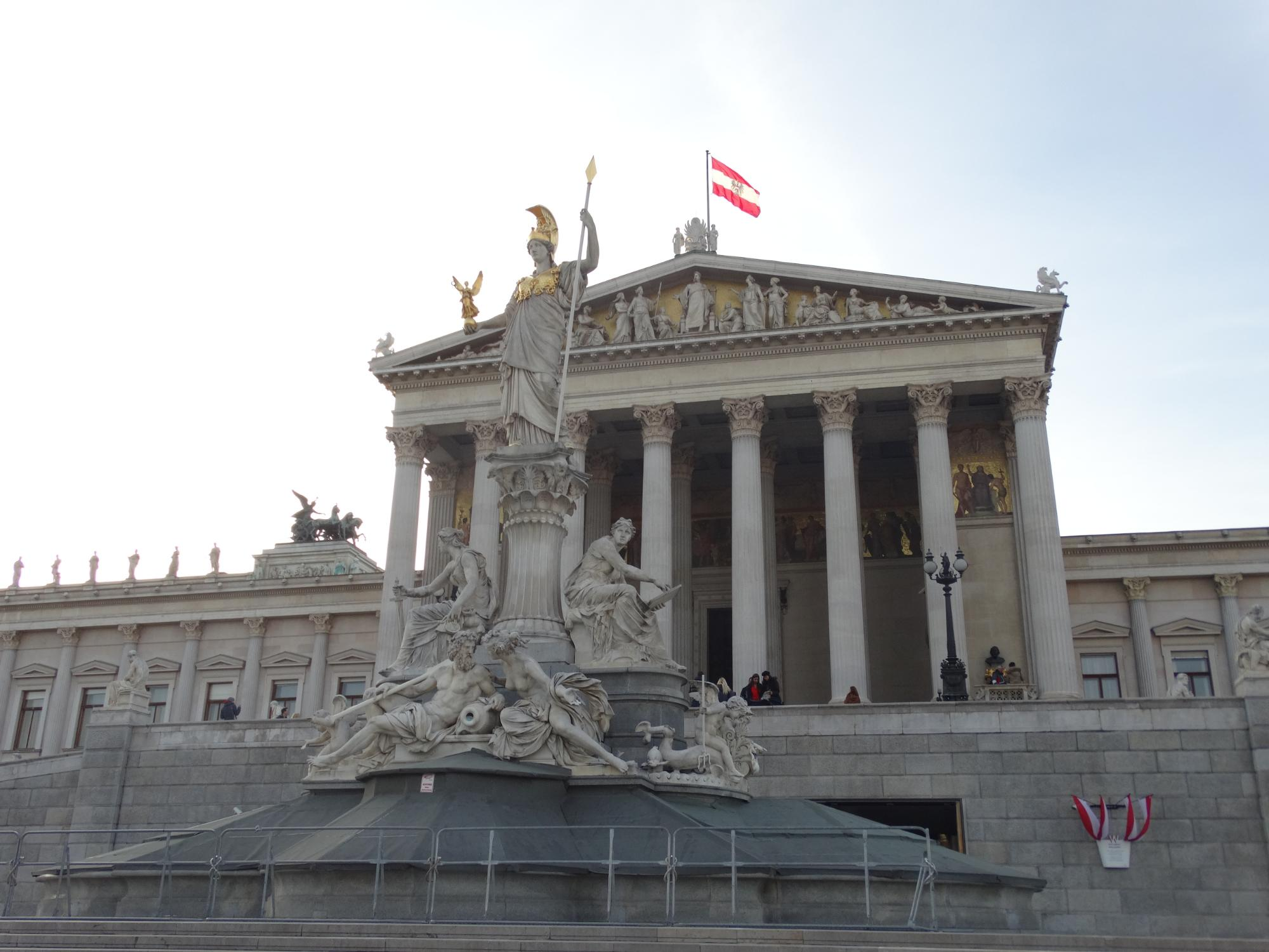 Prédio do Parlamento Austríaco