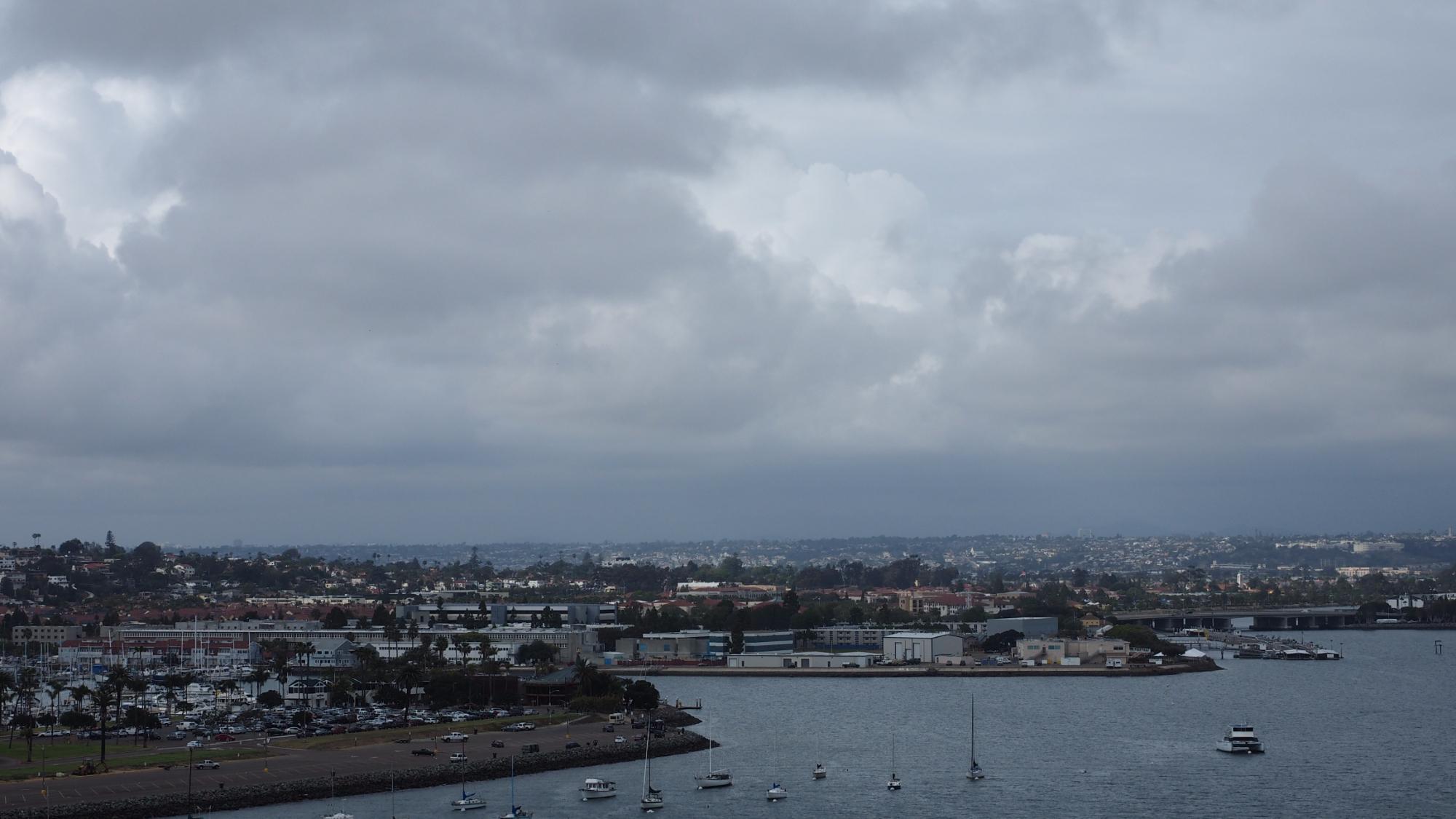 San Diego desde el Ruby Princess. 8 abril 016