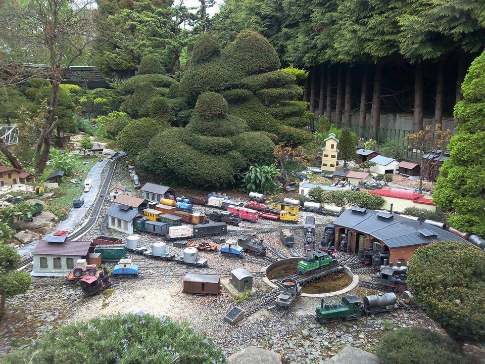Le jardin ferroviaire chatte frankrike omd men for Jardin ferroviaire