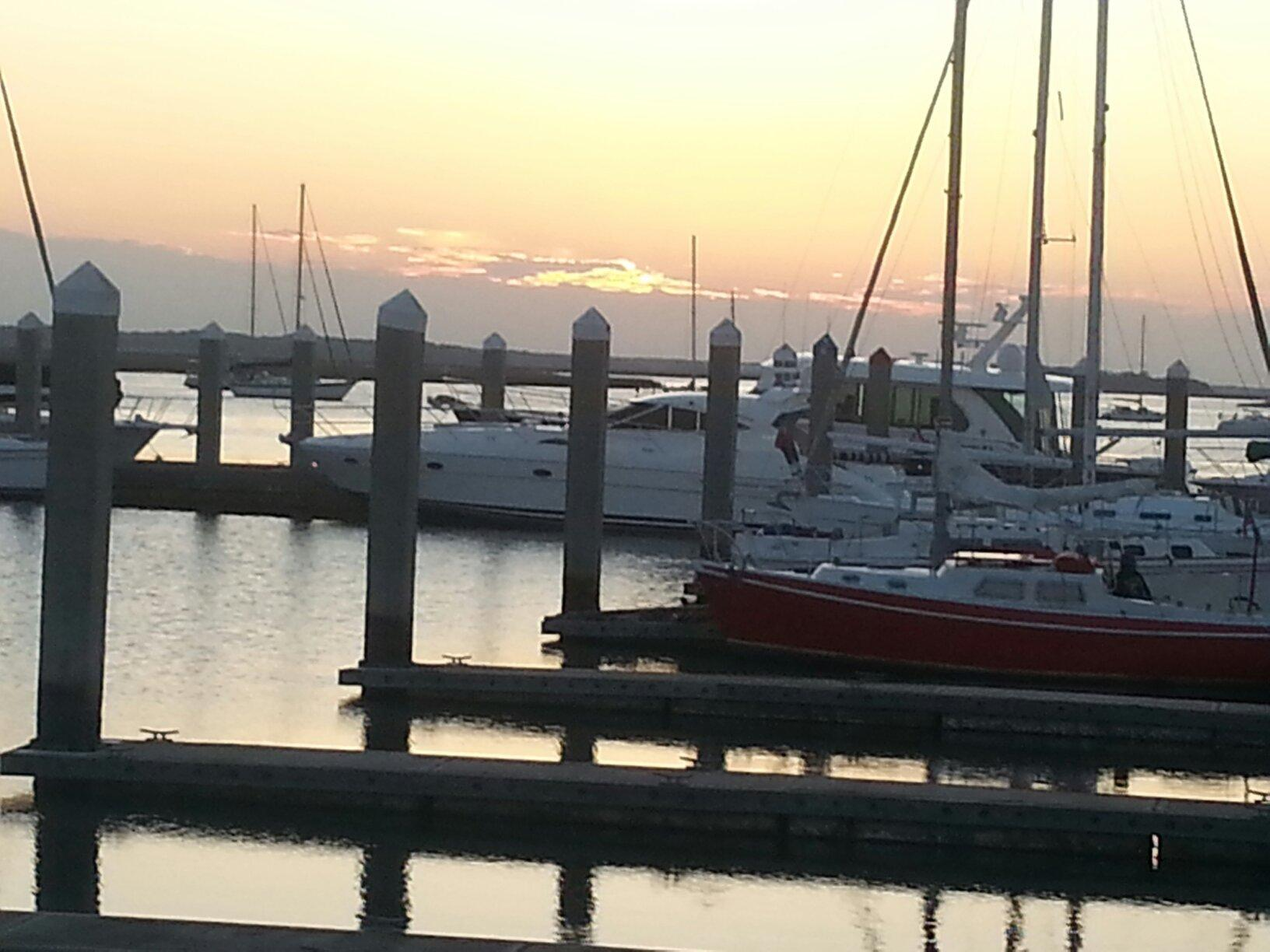 The harbor at Amelia Island is fantastic.  It is steps away from dining, shopping, galleries and