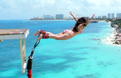 Bungee in Cancun