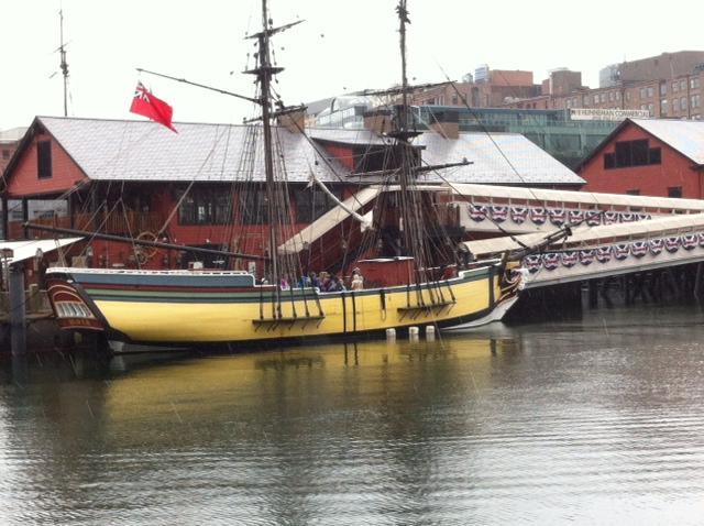 Boston Tea Party ship, Boston Harbor