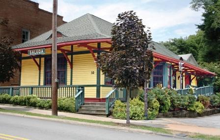 Saluda Historic Depot