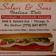 Soluri & Son Italian Deli