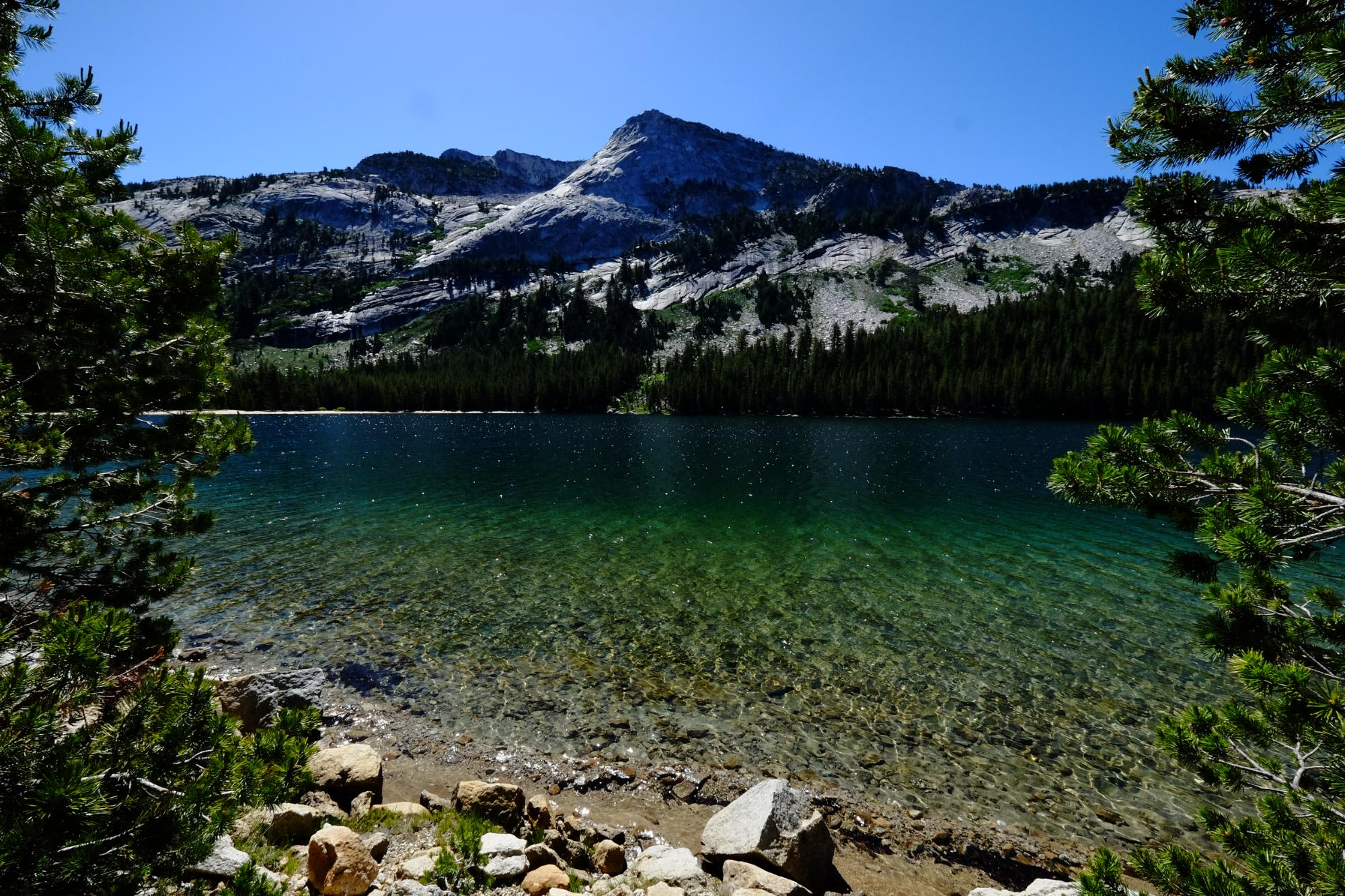 Lakes in Yosemeti