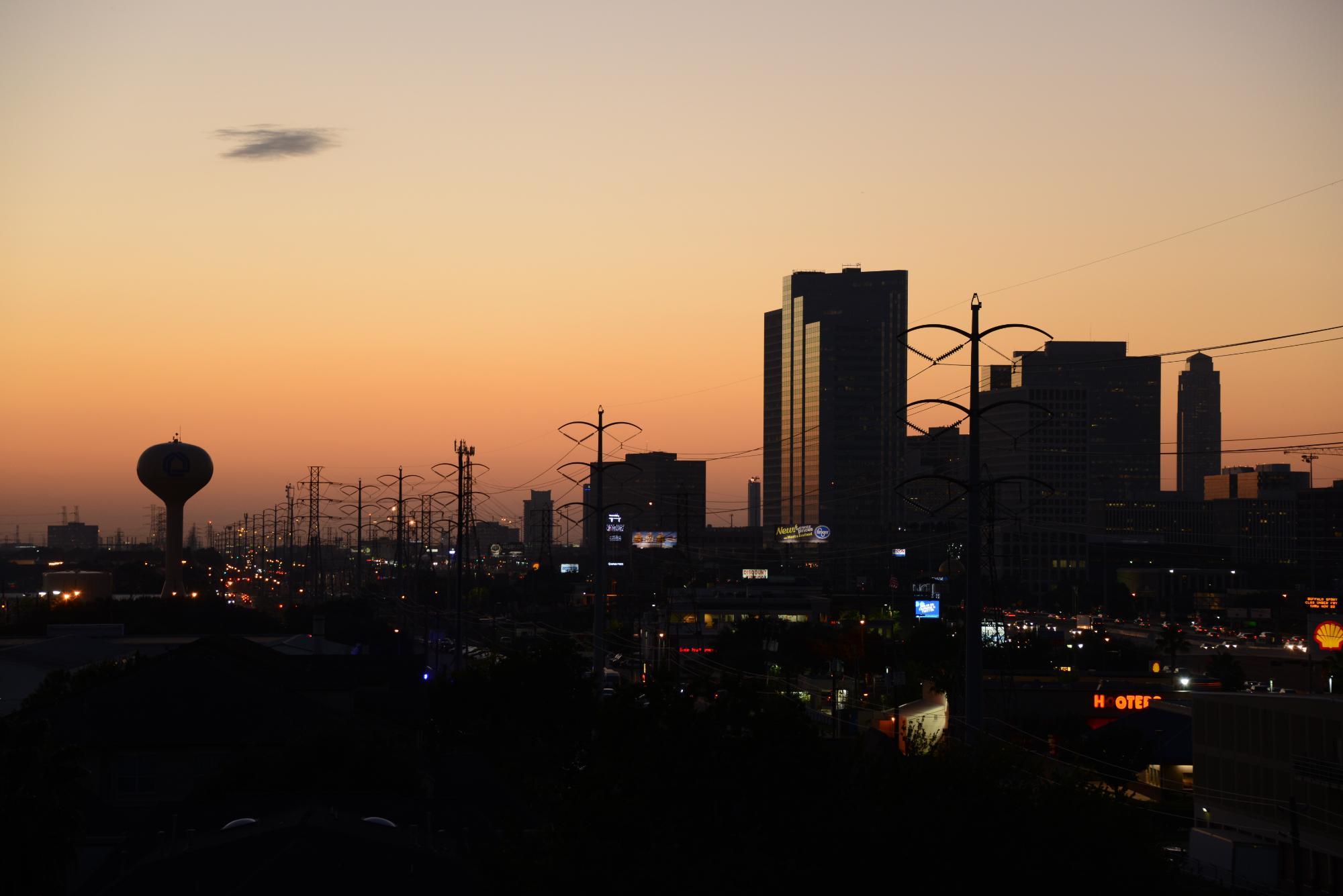 Houston Sunset