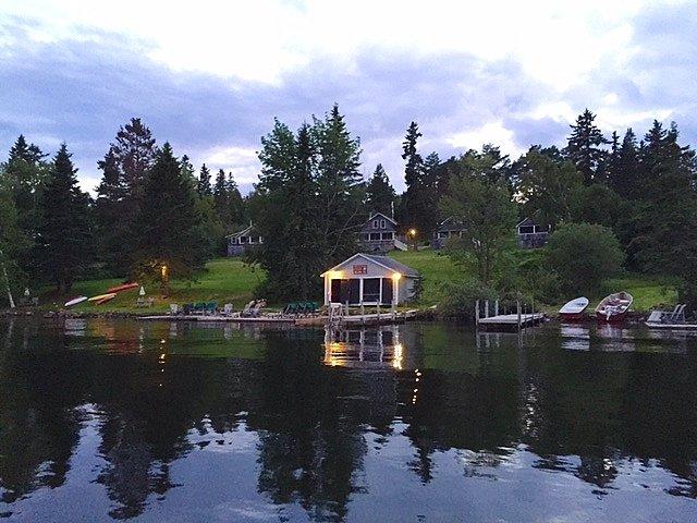 Hunter Cove Cabins on Rangeley Lake
