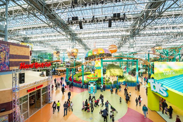 Nickelodeon Universe South Entrance