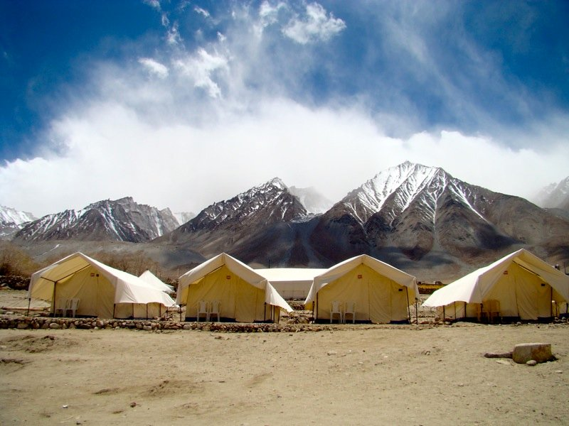 Pangong Retreat Camp