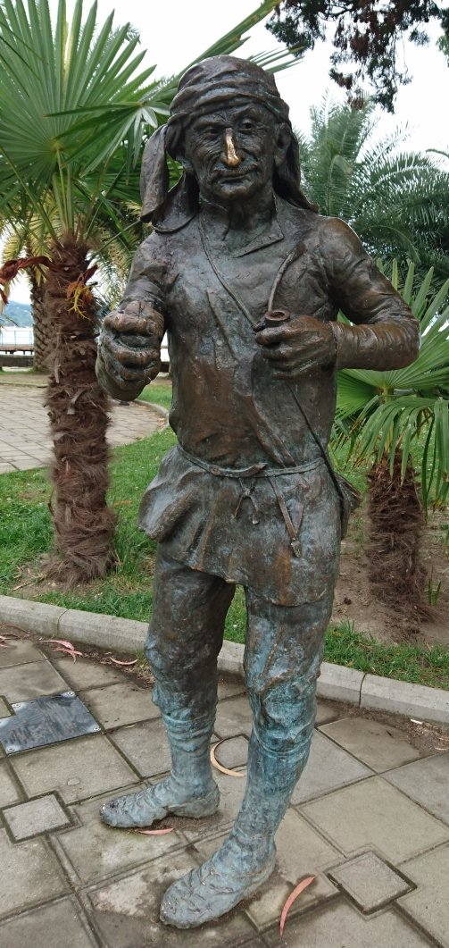 Sculpture Starik Tachkum