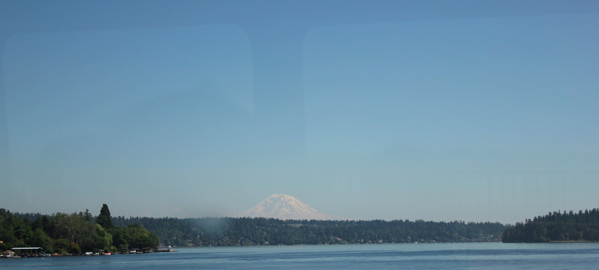 The lovely Mt. Ranier