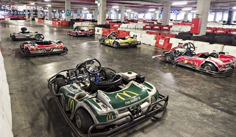 PodioImediato Indoor Kart Center