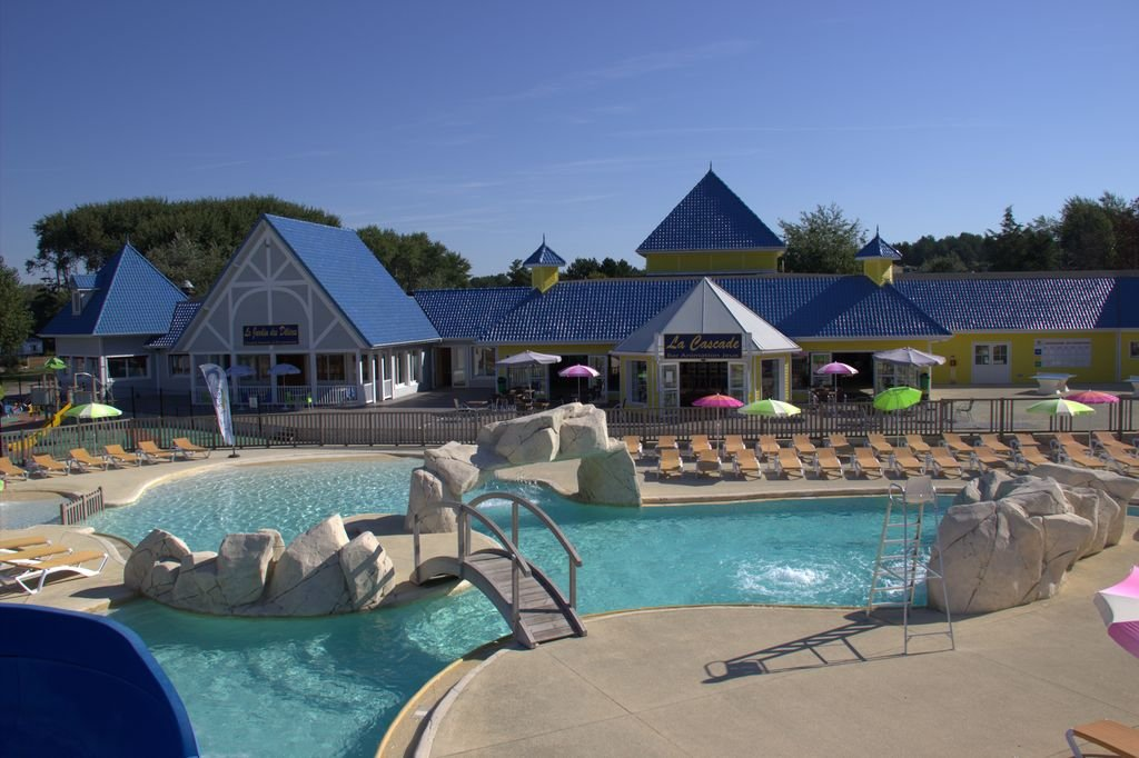 Camping club les jardins de la mer resort merlimont plage for Club piscine st hubert