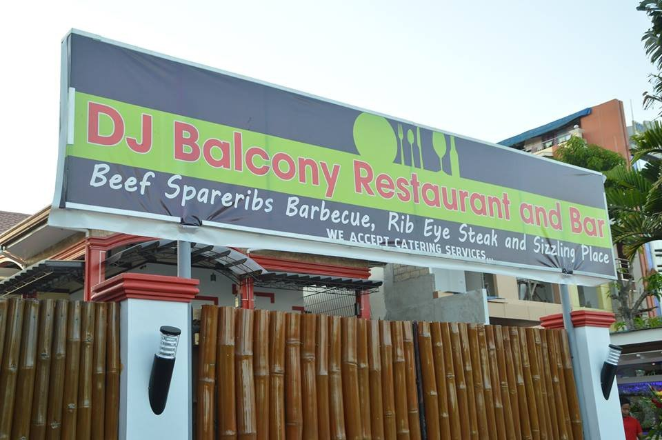 Dj balcony restaurant and bar puerto princesa for Balcony restaurant bar