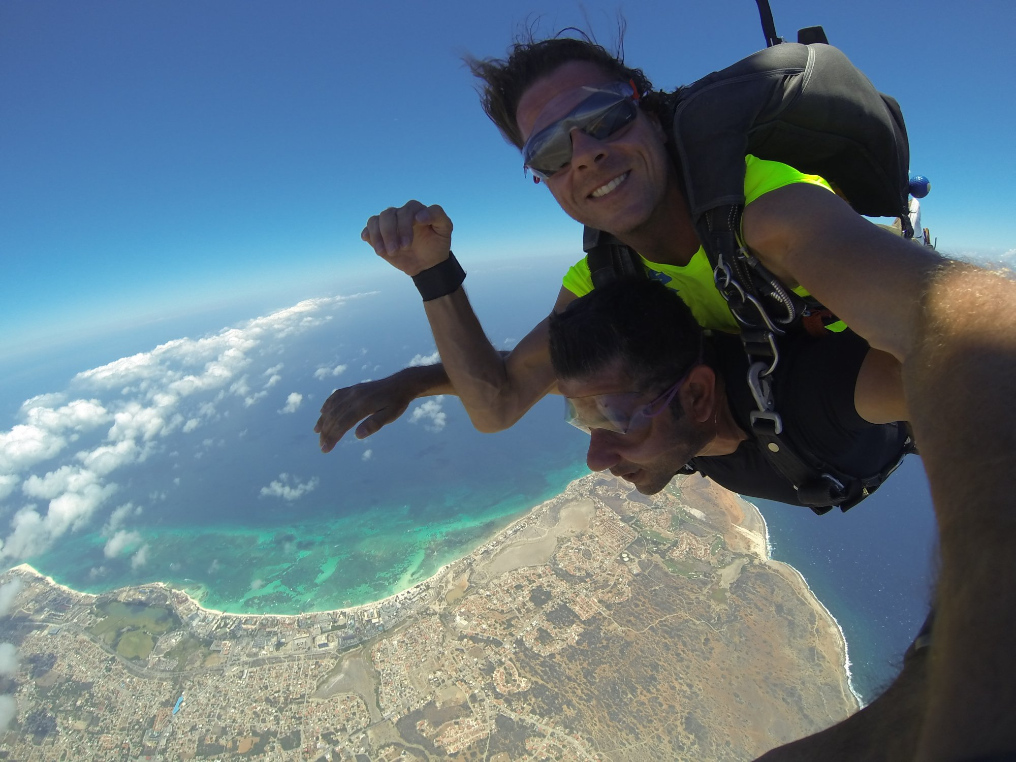 Skydiving in Aruba