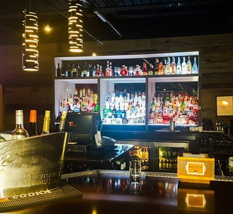 Our bar is fully stocked at all times!  If you can think it, we can make it!