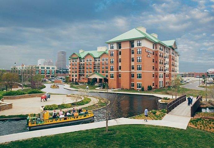 奧克拉荷馬城市中心/布里克頓 Residence Inn 飯店