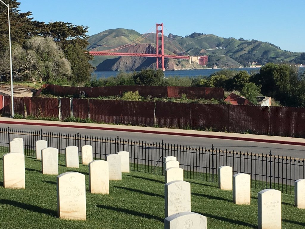 San Francisco Map Of Things To Do%0A San Francisco National Cemetery