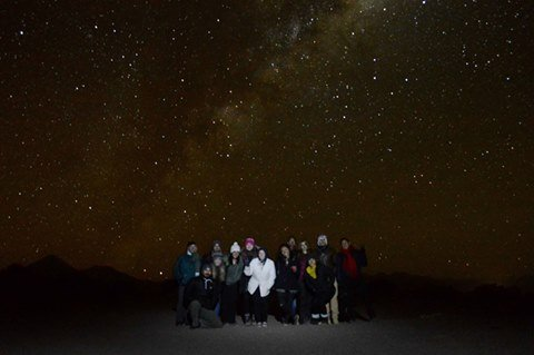 Stargazing Chile