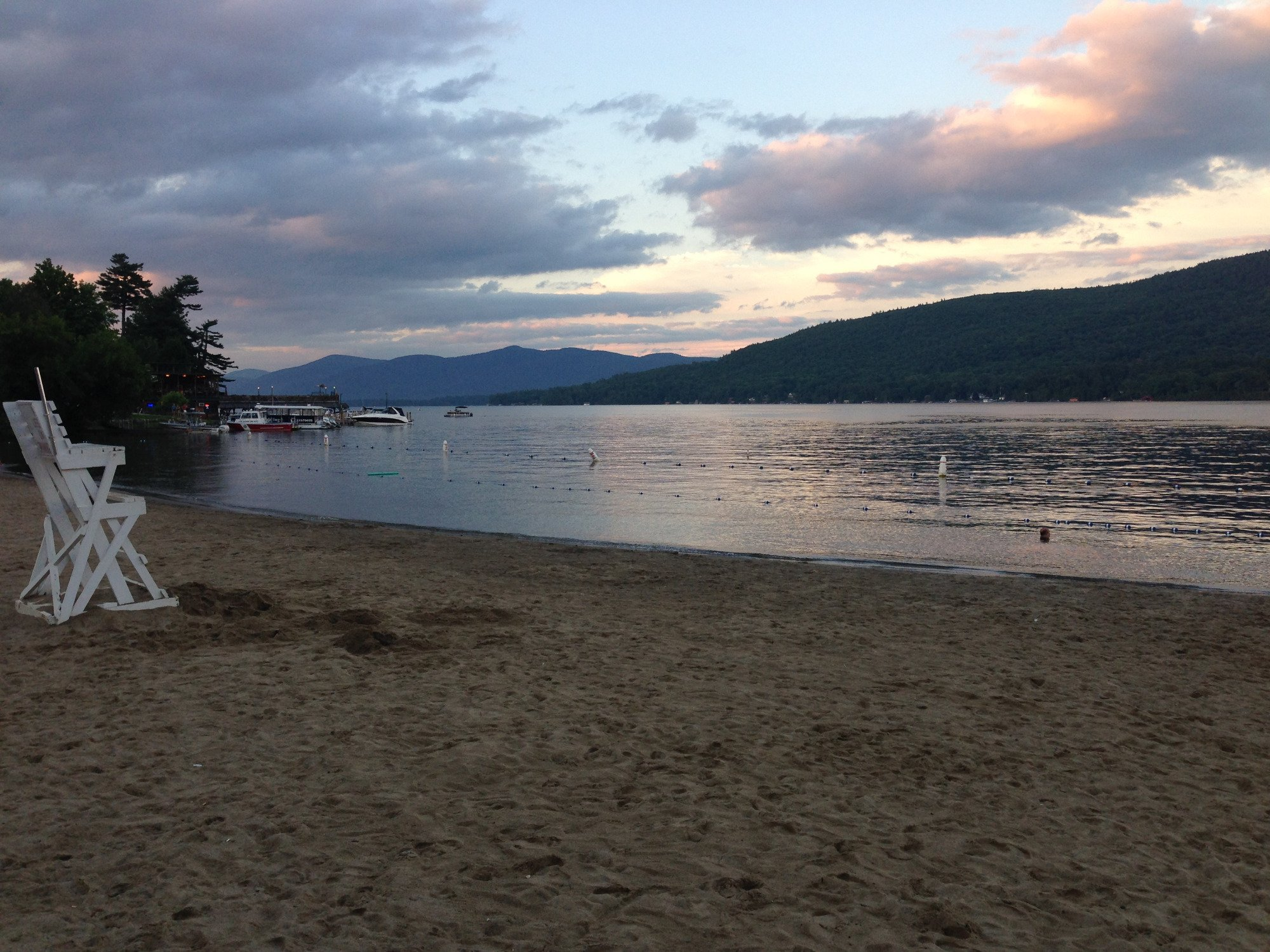 Shepard Park Beach, Lake George, NY