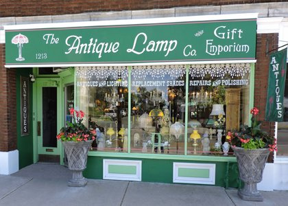 The Antique Lamp Co. and Gift Emporium