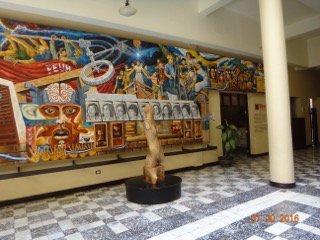 Centro de arte y Cultura de la UNAH