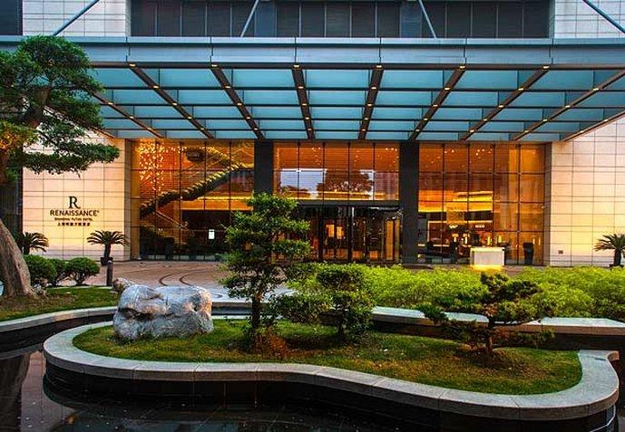 ルネッサンスホテル 上海普陀(上海明捷萬麗酒店)