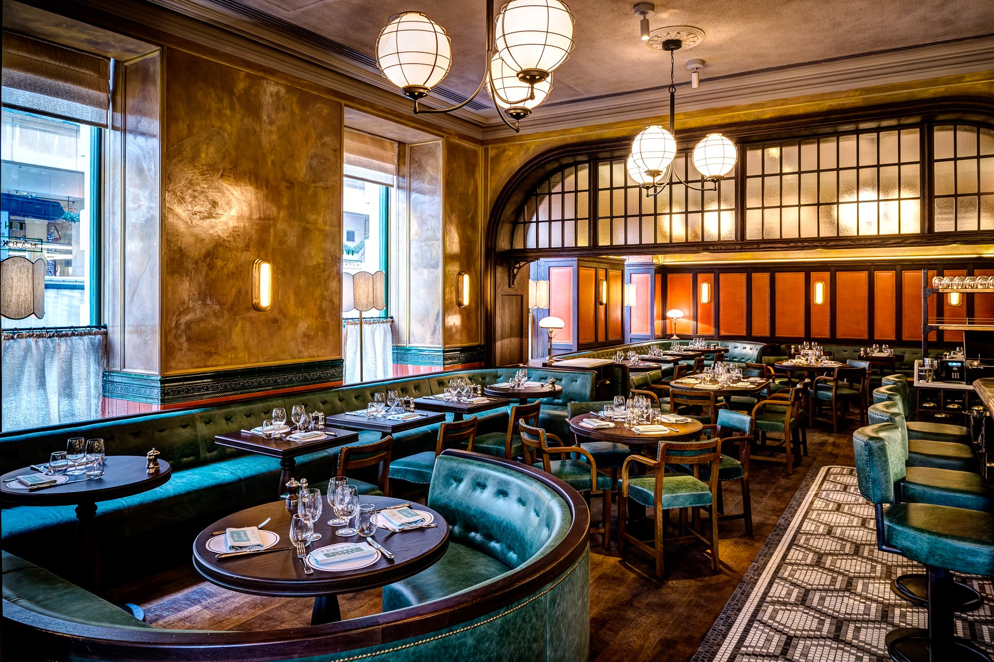 the ivy market grill, london - covent garden - restaurant reviews