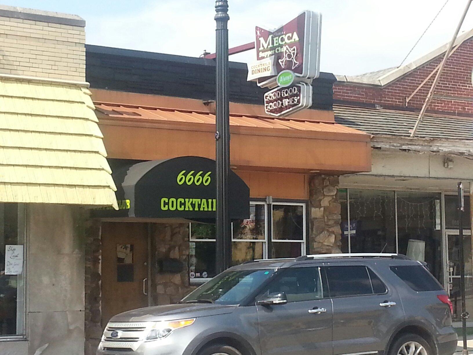 The Mecca Supper Club Chicago Edison Park Menu Prices