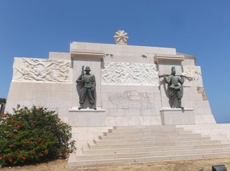 Monument to Syracuse Fallen in Africa