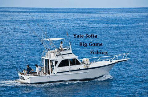 Yate Sofia Big Game Fishing