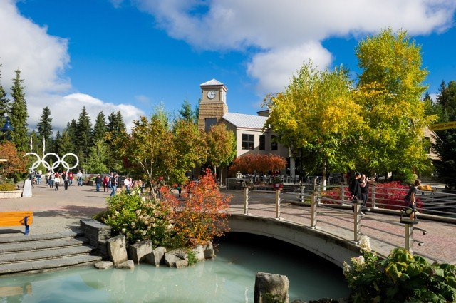 Fall in Whistler Photo by Mike Crane