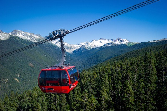 The P2P in Whistler Photo by Mike Crane
