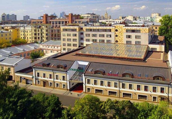 コートヤード バイ マリオット モスクワ シティ センター