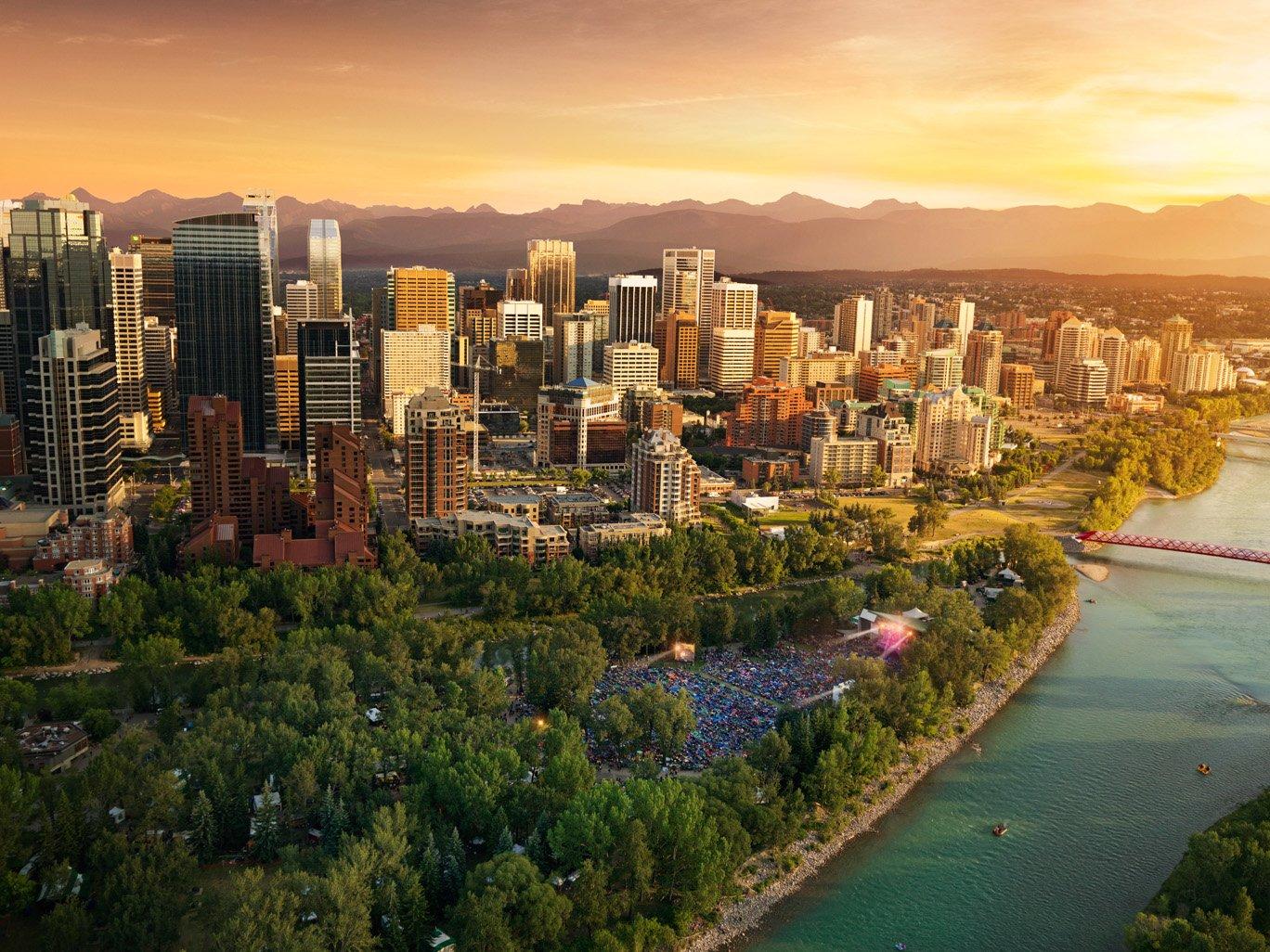 Calgary's Golden Hour