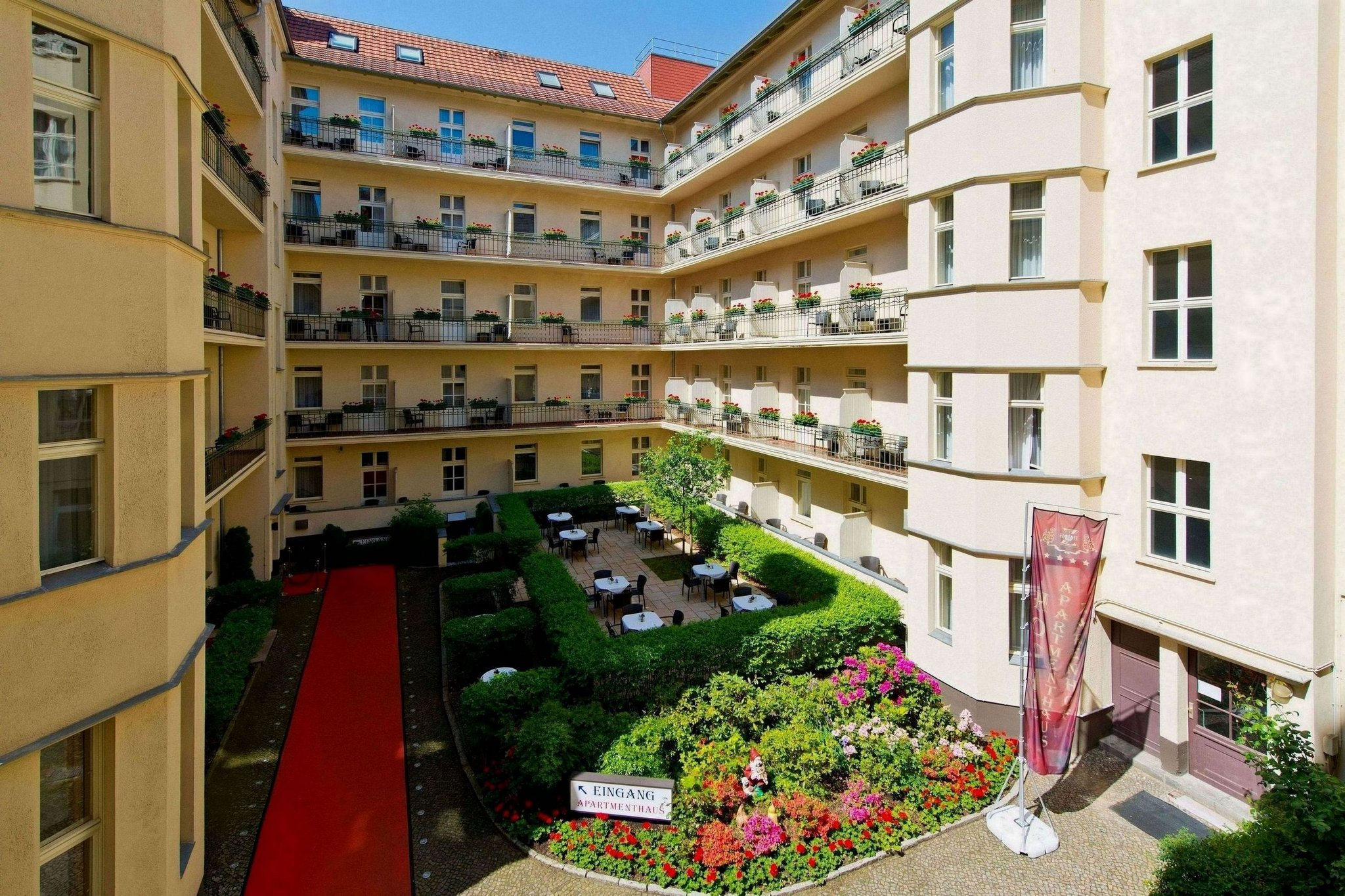 호텔 아파트멘타우스 자렌호프