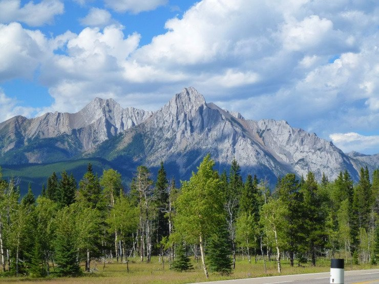 Highwood Pass Kananaskis Country Kanada Omd 246 Men