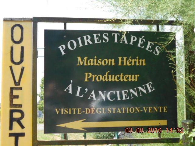 Maison herin poires tapees a l 39 ancienne rivarennes for Alcool de poire maison