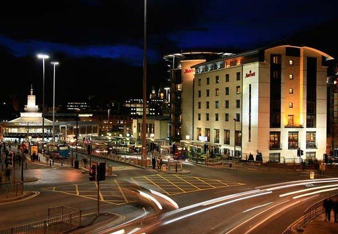 利物浦市中心万豪酒店