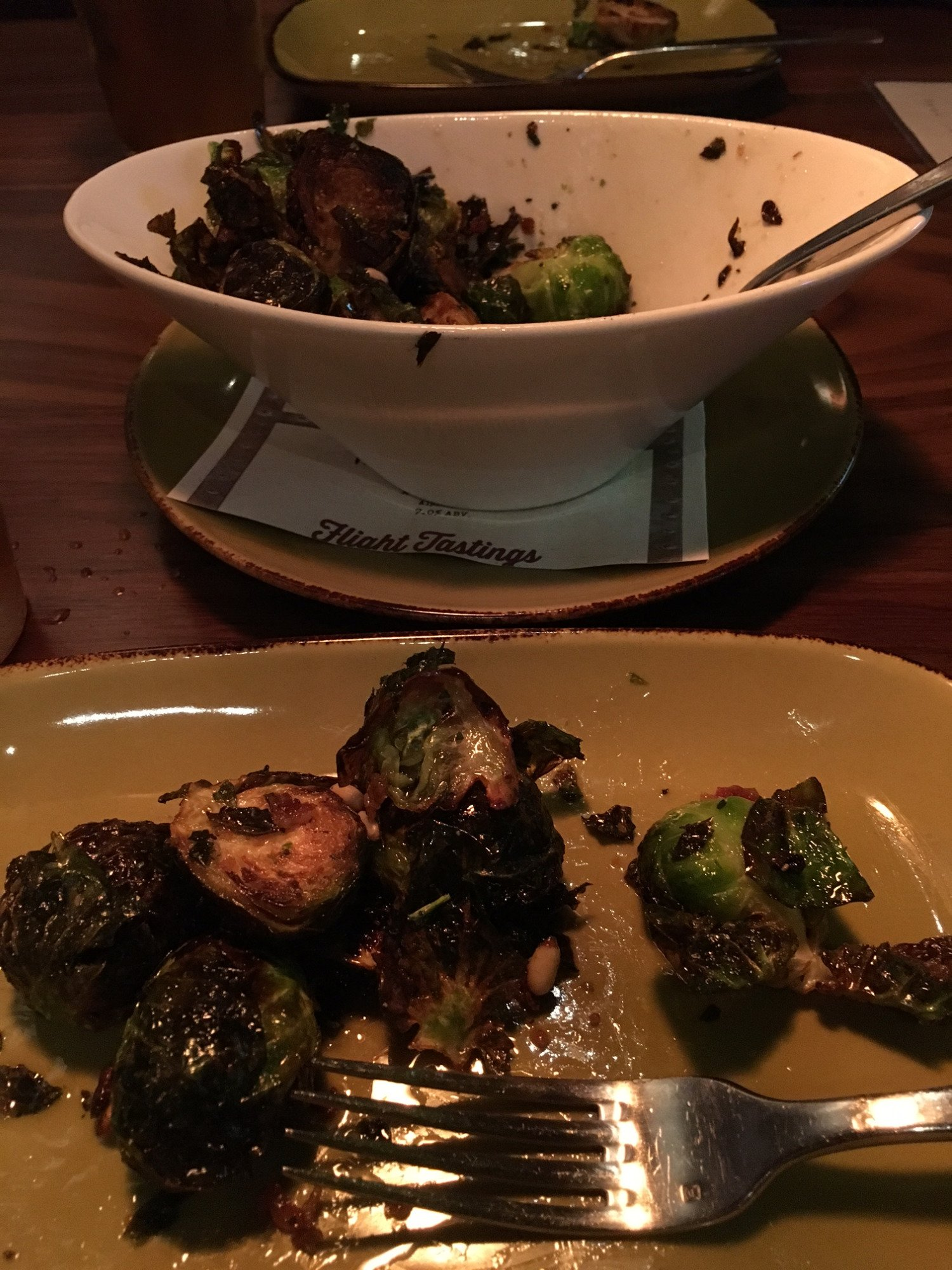 The bomb brussels sprouts!