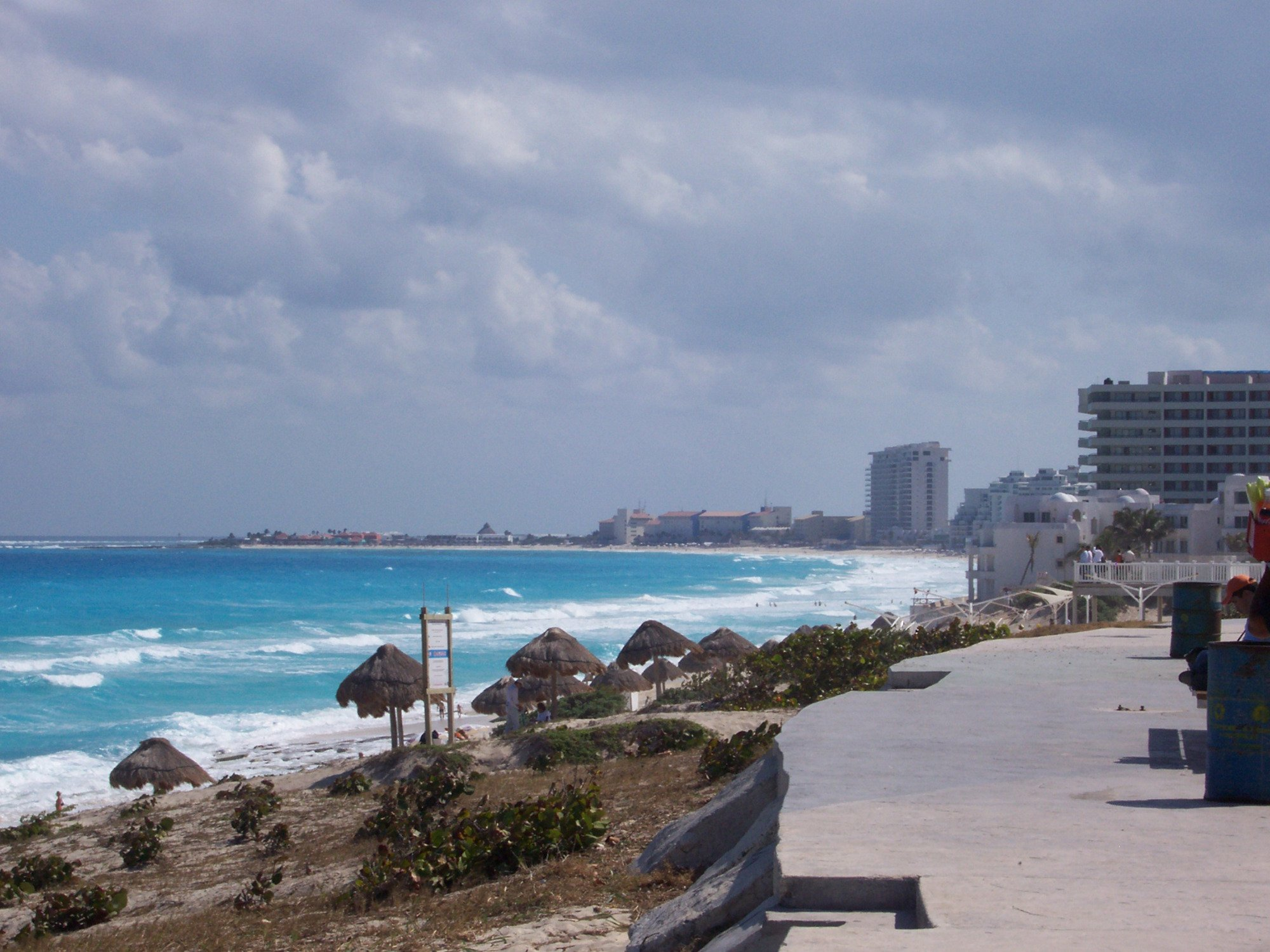 Cancun facing south