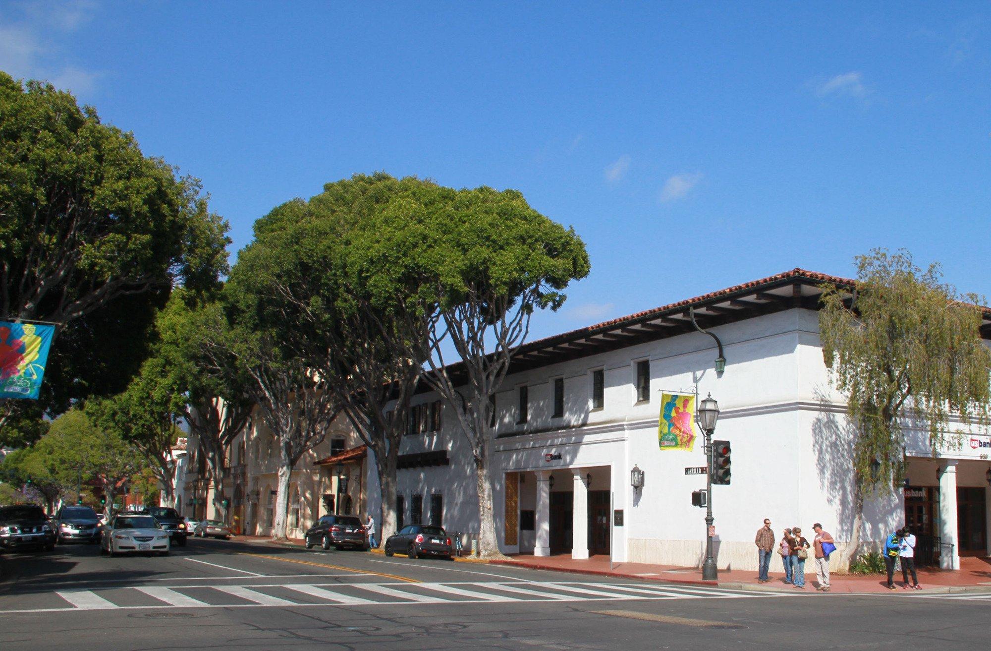 Down town Santa Barbara