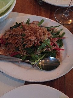 cant recollect- some sort of salad