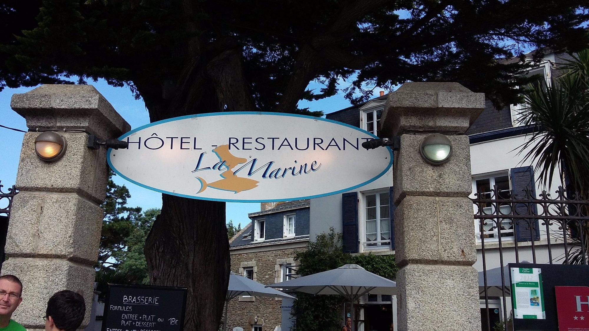 Hotel De La Marine Groix