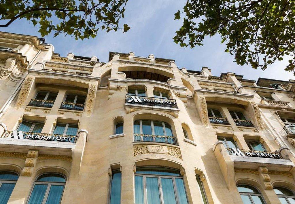巴黎香榭麗舍大街萬豪酒店