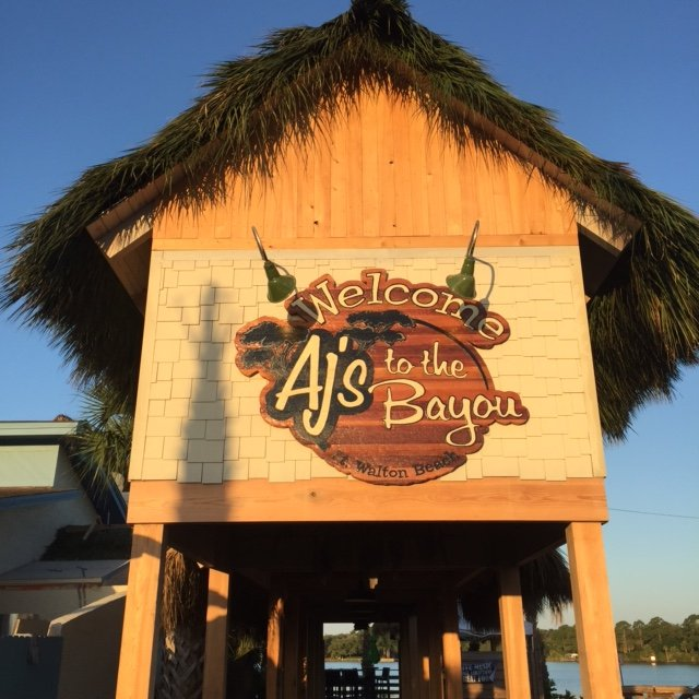 AJs on the Bayou.  Home of Champion Charters!